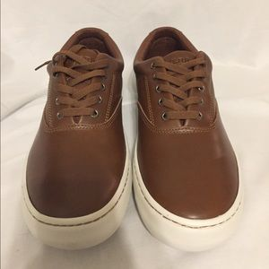 Mens Sperry cutter cvo leather tan